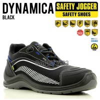 Jogger Dynamica Black Sepatu Safety Shoes Metal Free Composite ESD