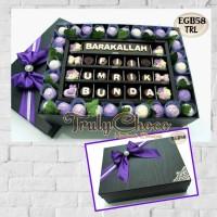 hadiah ulang tahun istri tercinta coklat trulychoco special