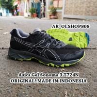 SEPATU Asics Gel Sonoma 3 Mens ORIGINAL Running Shoes Sepatu Trail