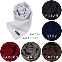 JAHIT TEPI Formal Saudia Ansania Jilbab Hijab Segiempat Segi Empat
