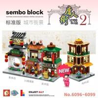 Sembo Block China Town Series 2