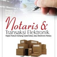 Harga buku notaris dan transaksi elektronik dr edmon m s   antitipu.com
