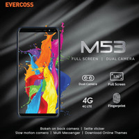 Hp EVERCOSS M53 Full Screan View Ram1GB/8GB || Android 4G Murah