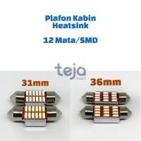 Lampu LED plafon/kabin/cabin/festoon 31mm 31 12 10 SMD/Mata Heatsink