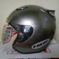 Helm ink centro kw ready stok termurah di tokopedia warna abu abu
