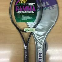 Harga rare raket tenis gamma cps 110 xp bonus senar dan | Pembandingharga.com