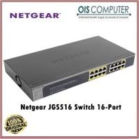 Netgear JGS516 Switch 16-Port 10/100/1000 Mbps Gigabit Ethernet