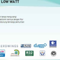 AC Panasonic 1/2 PK XN5TKJ Deluxe Low Watt Bandung, JAWA BARAT