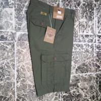 celana cargo pendek cotton