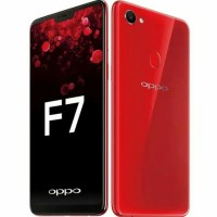Hp Resmi Oppo F7 Ram 4 - 64GB -Red dan black (F7 4/64GB -Limited)