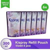 Kispray Refill Pouch Violet - 6 Pcs