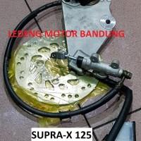 Harga cakram supra x 125 belakang kaliper master rem nissin kw bukan | Pembandingharga.com
