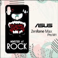 Casing Asus Zenfone Max Pro M1 HP Monster Of Rock J0021