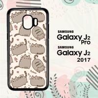 Casing Samsung Galaxy J2 Pro HP Pusheen The Cat L1477