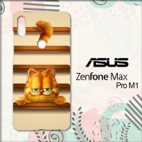 Casing Asus Zenfone Max Pro M1 Custom HP Garfield Smile L0676