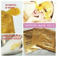 MAKEUP WAJAH || Shiseido Mask Gold (Masker Naturgo Emas) Shisedo Gold