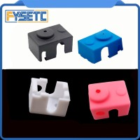 New V6 Silicone Sock 3D printer Support V6 PT100 Original J-head 1.75/