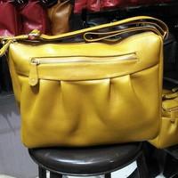 DISKON MURAH! Tas kulit untuk wanita asli garut , warna kuning