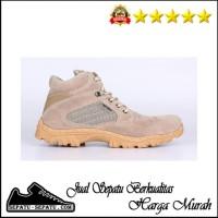 Sepatu Boots Pria Semi kulit Outdoor Hikking Adventure Gunung ERJM 520