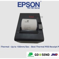 ORI Printer Kasir Epson TM-T82 Thermal Auto Cutter port usb - serial