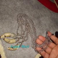 Harga kalung rantai etnik monel stenlis batu akar bahar gringsing by | Pembandingharga.com