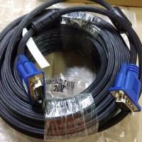 TERLARIS Kabel Vga to Vga Cable Panjang 20M Murah Berkualitas