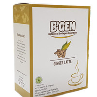 BGEN Minuman Nutrisi Collagen-Minuman Kesehatan Ginger Latte