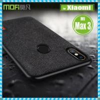 Case Mofi Fabric Xiaomi Mi MAX 3 Original Soft Denim Casing Premium
