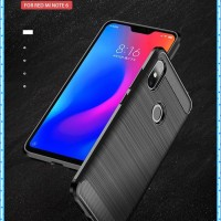 Rugged Case Carbon Premium Xiaomi Redmi Note 6 Slim Armor Spigen