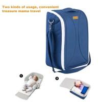Mummy Shoulder Bag Alas Tidur / Ranjang / Kasur Portable Bayi