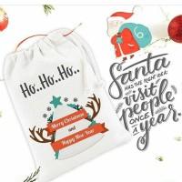 Tas / Pouch / Ransel / Tote Bag Belacu / Blacu - Christmas Natal