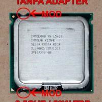 Xeon L5420 LGA 775 quad core (setara Q9550, diatas Q6600 / Q8200)