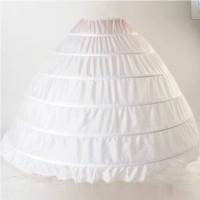 Petikut 6 ring petycoat pannier besi pengembang kebaya gaun pengantin