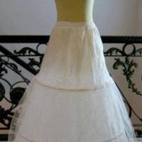 Petikut 3 ring pettycoat pengembang bawahan kebaya gaun pengantin