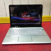 SONY VAIO SVE14A2AJ Touch Core i7 Gen 3th VGA AMD Radeon HD7660M Mulus