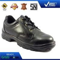 Sepatu Safety Viox 8103 Laced Up (Hitam)