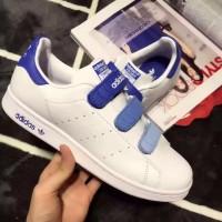 ORI CINA Sepatu Sneakers Olahraga Pria Model Adidas Stan Smith Warna