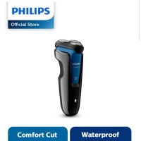 PHILIPS AQUATOUCH WET AND DRY ELECTRIC SHAVER HITAM S1030/04