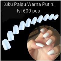 600 pcs kuku palsu false nail art BN1014