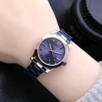jam tangan fossil wanita tanggal aktif Warna navy rose gold