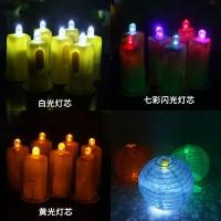 jual lampu led lampion bulat dekorasi imlek bola lampu