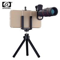 Harga universal 18x telescope optical zoom mobile phone lens for iphone | Pembandingharga.com