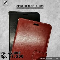 XYGO OPPO REALME 2 PRO REAL ME 2 PRO Case Leather Dompet Flip Cover