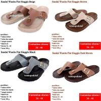 Sandal Wanita Flat Singgle