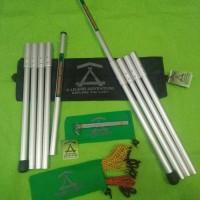 Tiang/Frame Flysheet Aluminium (Paket lengkap)