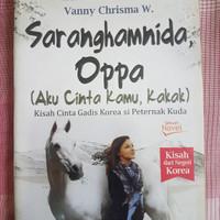 Buku novel Saranghamnida Oppa
