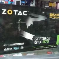VGA Zotac GTX 970 4GB GDDR5 AMP Extreme Core Edition Bekas