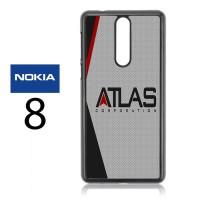 Casing Nokia 8 Atlas Corporation Call Of Duty Hard Case Custom