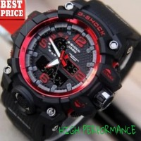 jam tangan pria casio ANTI AIR RUBBER GSHOCK G-SHOCK DUAL-TIME GWG-100