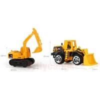 Terlaris Mainan Mobil-Mobilan Truck Konstruksi Diecast Anak 6PCS - Y